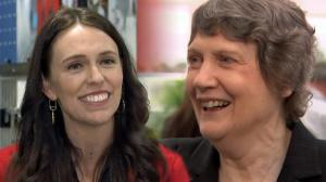 Helen Clark Shows Hand--Out of Shadows onto Public Policy Centre Stage