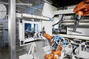 Robotic handling raises sawing productivity