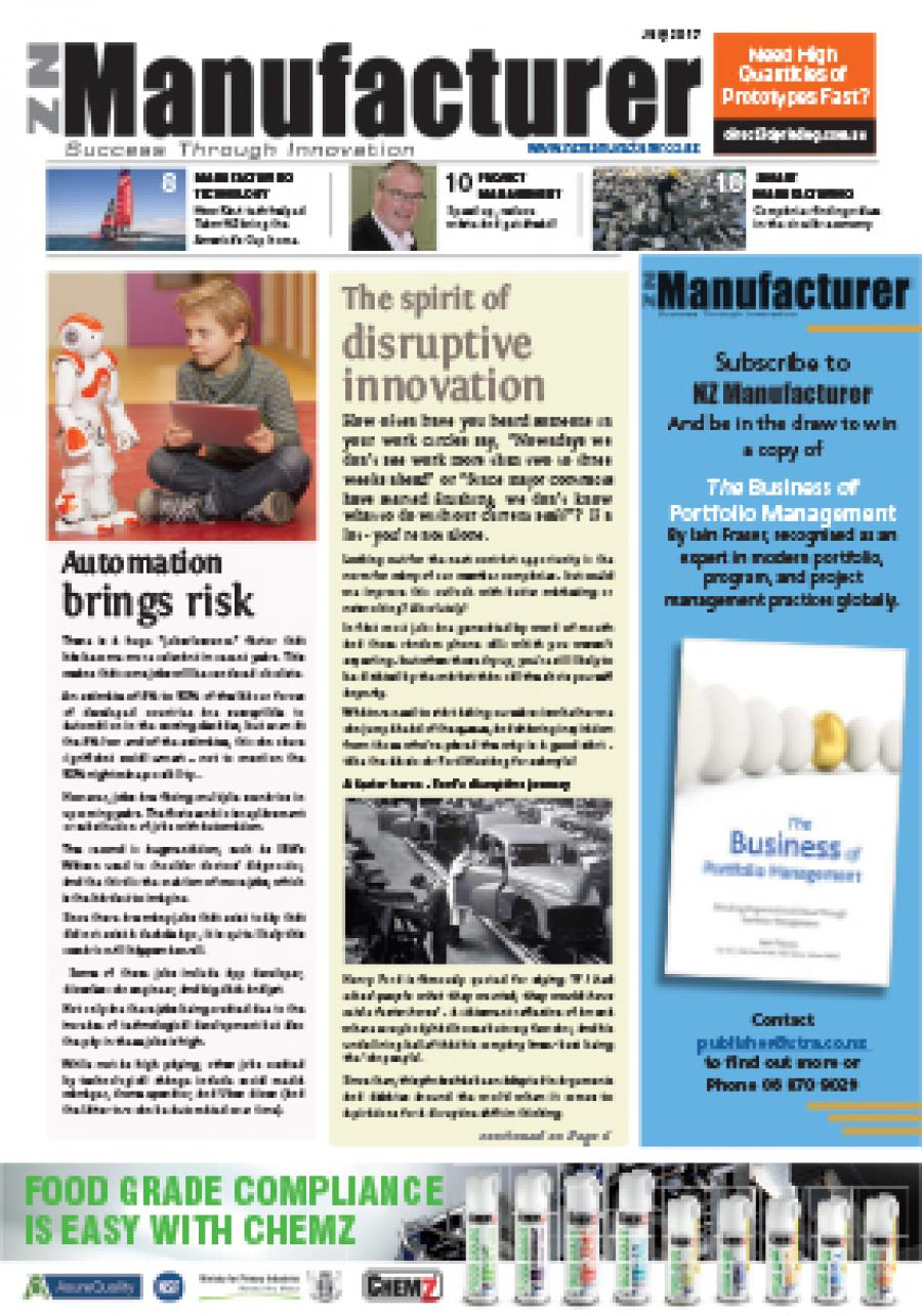 NZManufacturer July 2017 Edition Click on link below to read