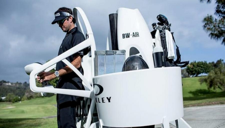 """Golf Cart Jetpack gives new meaning to a """"birdie"""""""