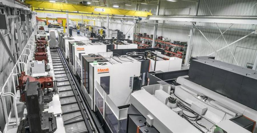 Mazak Adds Another Plant to its Smart Network