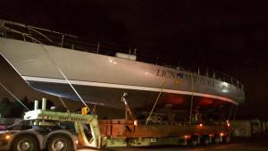 Lion New Zealand begins Yachting Developments refit