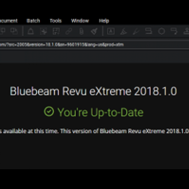 Bluebeam Revu 2018.1 Update #blu