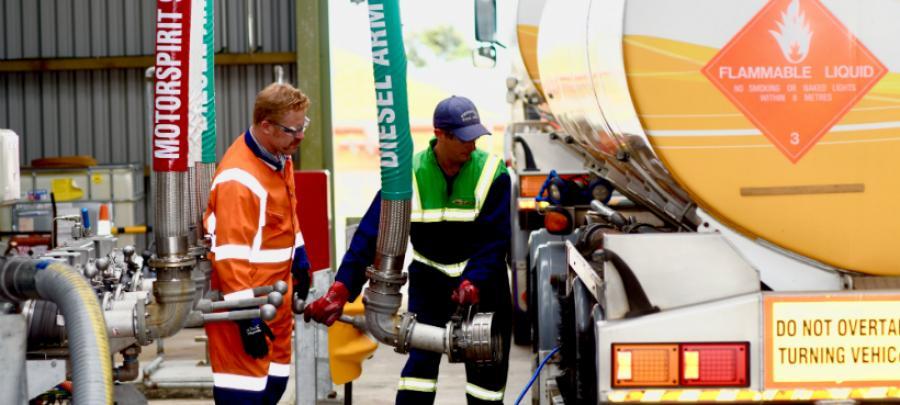 First fuel flows through Port Taranaki terminal