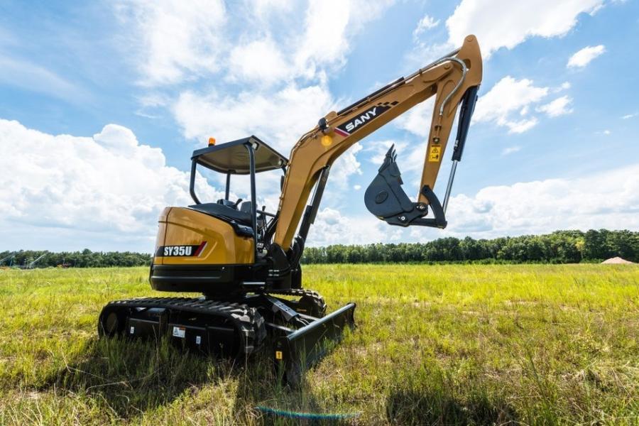 SANY online excavator sales