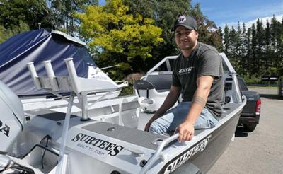 Toi Ohomai engineering student Mandela Petersen has spent his Summer break on a design project at Surtees Boats near Whakatane.