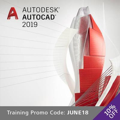 Get 10% OFF when you book a AUTOCAD 2019 Ttraining Course with Cadpro systems