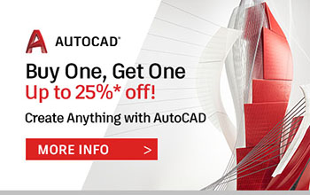 AutoDesk Buy One Get One with CADPRO