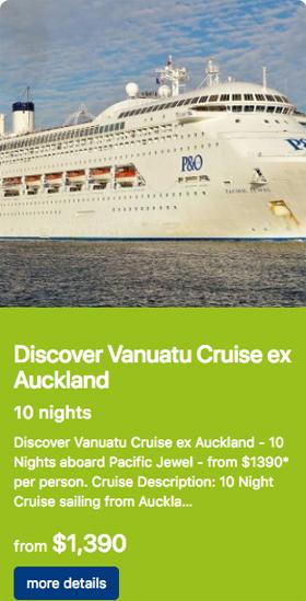 Discover Vanuatu x Auckland 10 nights