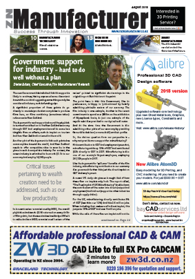 NZManufacturer Latest Edition August 2018