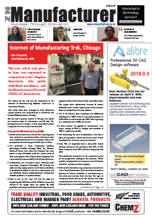 NZManufacturer Latest Edition July 2018