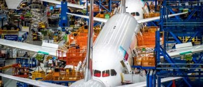 Boeing Jet Assembly Factory Tour