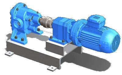 Rendering GP2 Rotary Gear Pump