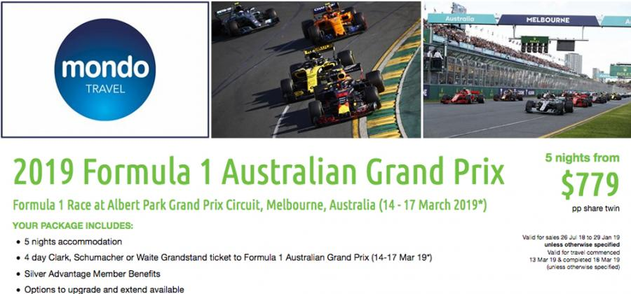 2019 Formula 1 Australian Grand Prix - MSC NewsWire