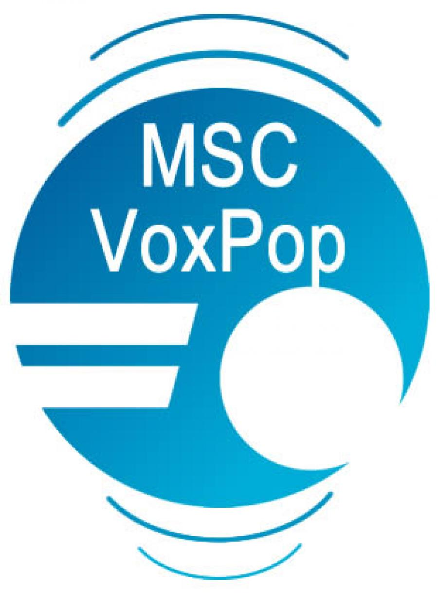 The MSCVoxPop App available soon . . .