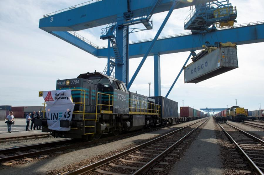 On May 12, the first Silk Road train exclusively destined for Antwerp has arrived.