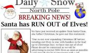 Santa News and Tracking