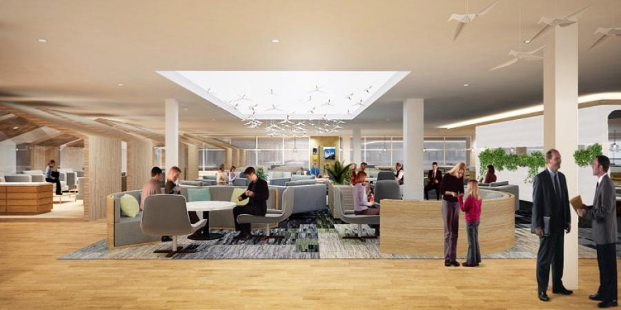 Auckland Airport launches Strata – revamps lounge, wifi