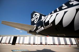 Air New Zealand's new A321neo nears take-off