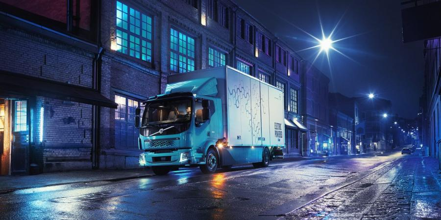 Volvo introduces its first all-electric truck