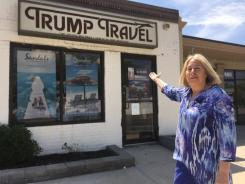 "Trump Travel - ""Not affiliated with Donald J. Trump or the Trump Organization""."