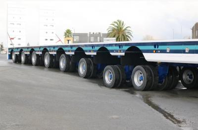 TRT delivers custom eight-line platform trailer