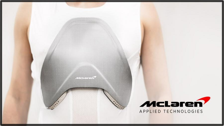 McLaren develops composite body armour for healthcare