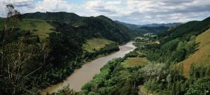The Whanganui River was granted a legal personality in 2017.