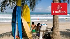 Surfboards can go to Bali for free