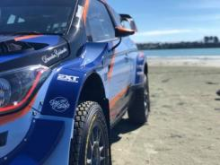 Paddon keeps it local with supporting partners