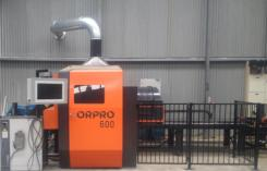 Machinery Service's  Pipe & Profile Robotic Beam Coping Plasma Cutter Orpro 600