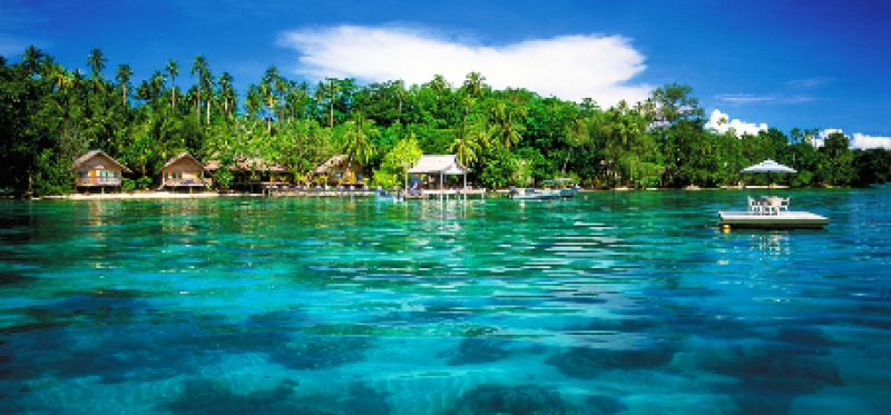 Cruising, Pacific Island stays,