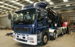 TRT teams up with Hiab to upgrade Isuzu truck