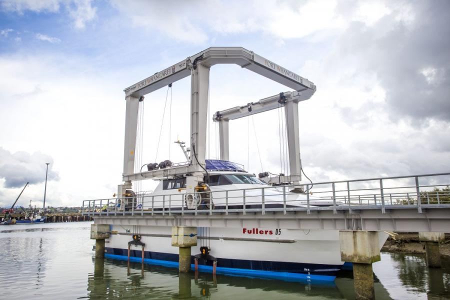 PGF support for new marine travel lift