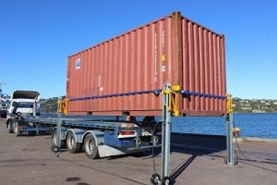 Container Lifting System to Debut at California Intermodal EXPO