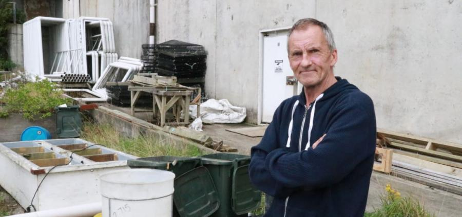 Former Bluff oyster farmer Rodney Clark has been financially ruined by the discovery of an oyster-killing parasite on Stewart Island.