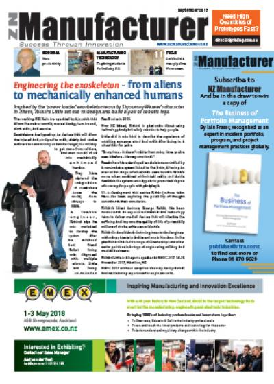NZManufacturer September 2017 Edition Click on link below to open