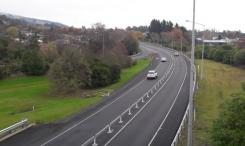 Dunedin to Mosgiel barriers installed making the highway safer for all road users