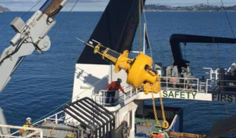 New buoy for Wellington Harbour to boost water quality information