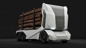 Einride reveals driverless all-electric logging truck