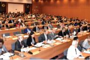 A  meeting of the World Customs Organization's E-commerce Group