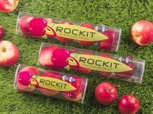 Rockit has always been promoted as an innovative snack product, and is not to be confused with a commodity apple.