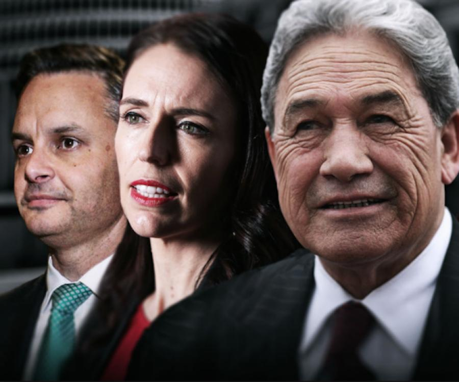 New Zealand First's Winston Peters MP Betrothed to Coalesce with the Labour Party.