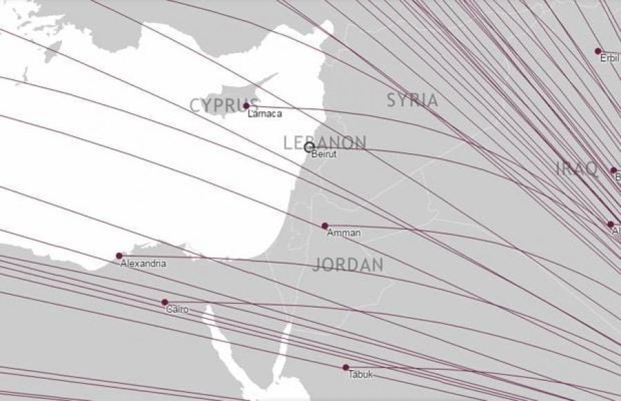 The airlines that have removed Israel from their route maps - MSC ...