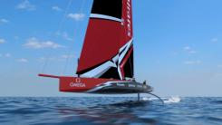 The America's Cup Class AC75 boat concept revealed