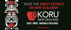 Strong demand for the KORU® apple in Asian markets
