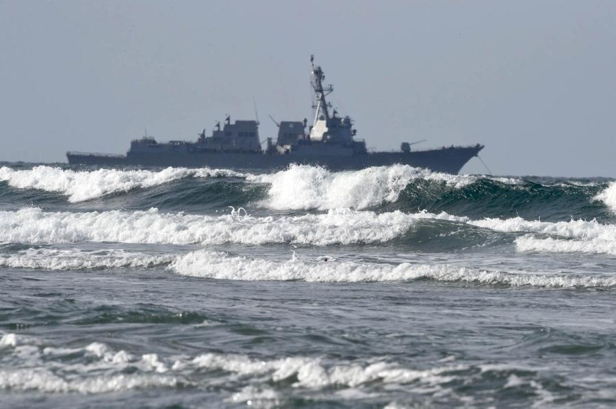 USS Sampson will Enter Kaikoura Harbour