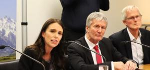 Prime Minister Jacinda Ardern and Minister for Primary Industries, Damien O'Connor announce the plan to eradicate M. Bovis.