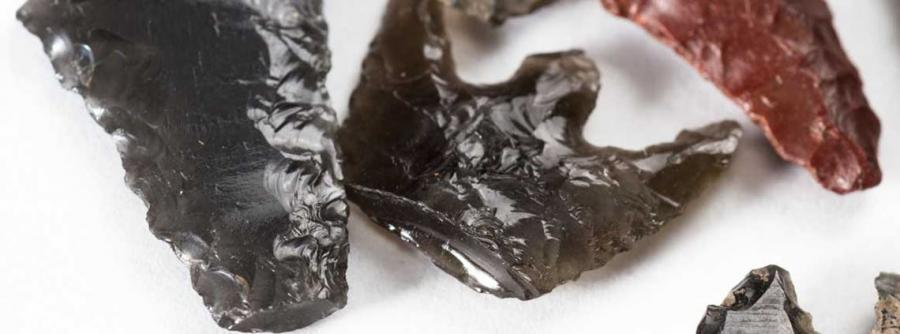 A stash of obsidian tools were found 100 miles away from the nearest source ©123RF