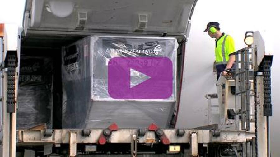 New tracking technology for Air New Zealand Cargo